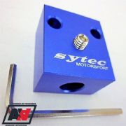 Sytec Alloy Pedal Block For Single Or Twin Throttle Cables Inc Allen Key TLK008M